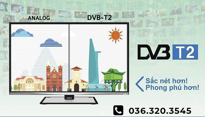 sự khác nhau giữa analog và dvbt2